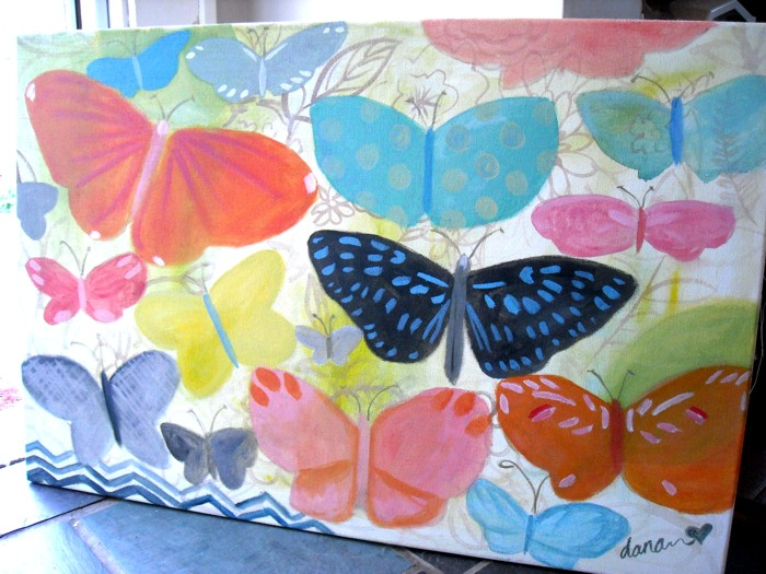 Dana Barbieri Art – Butterfly Dream