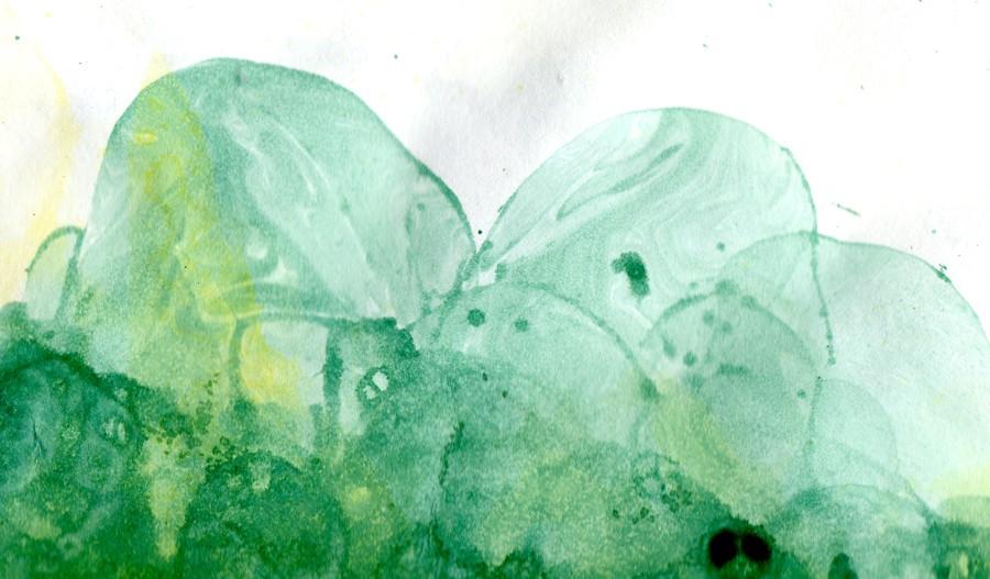 Swirly bubble texture