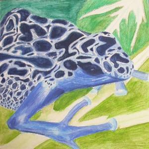 Blue frog - wip4