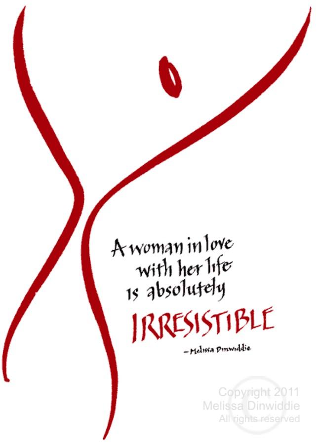 Irresistable by Melissa Dinwiddie