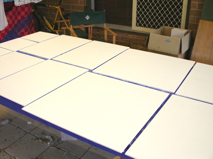 Primed boards