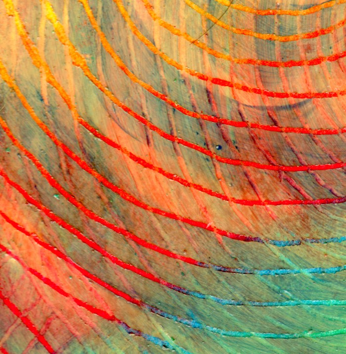 Swirl texture cut 3