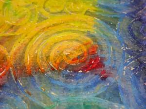 Swirls closeup