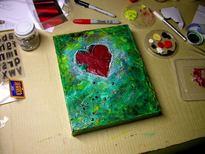 You are loved – work-in-progress