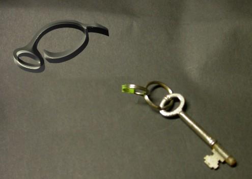 Key and logo