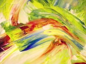 Coloured swirl