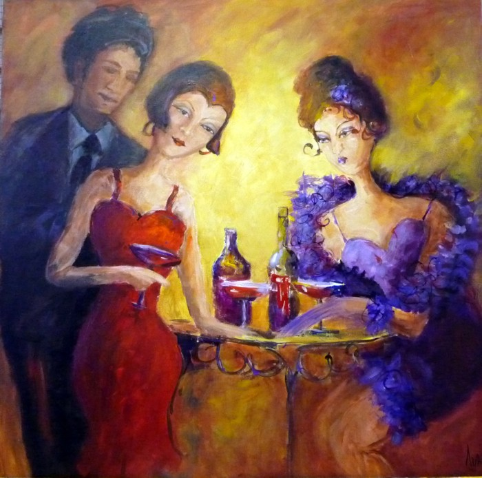 happy hour by Ivana Pinaffo