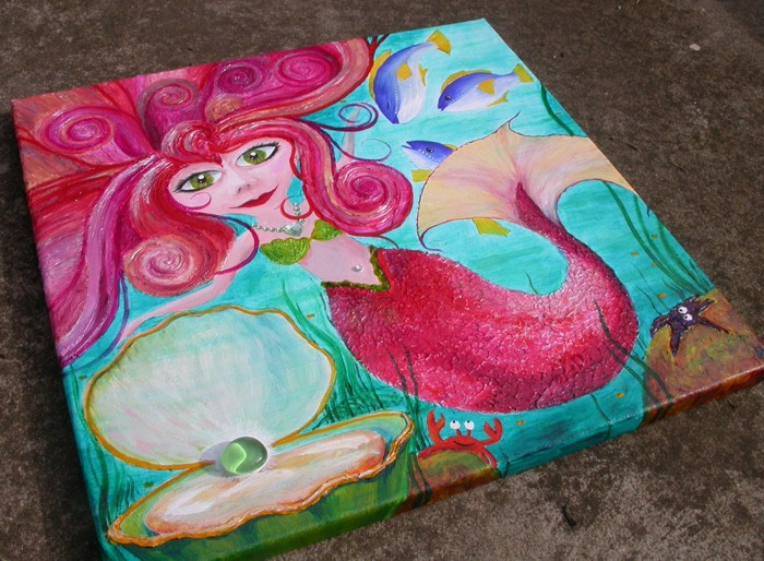 Sofie the mermaid by Liz Powley