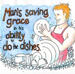 Man''s saving grace