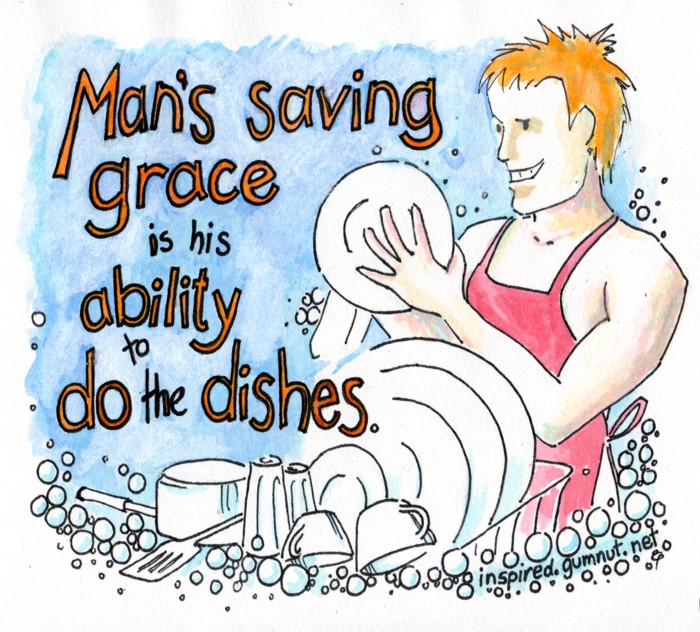 Mans saving grace