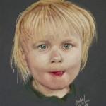 Isabel pastel portrait