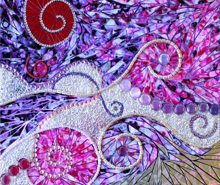 Paper and jewels mosaic final
