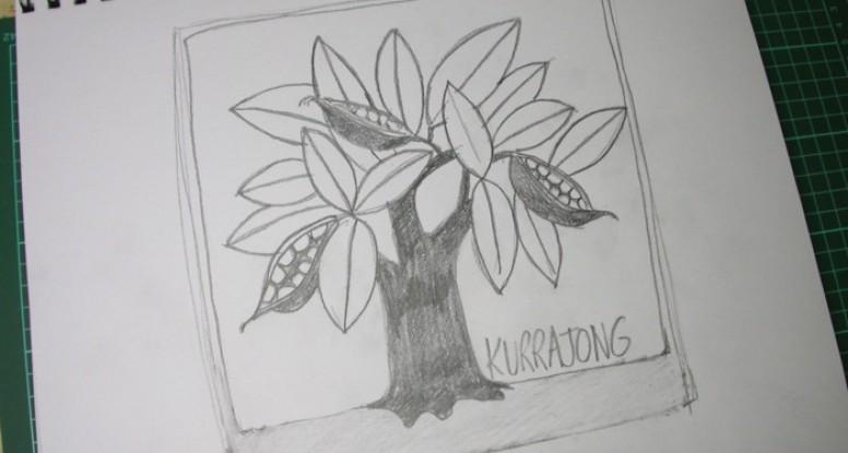 Kurrajong caricature sketch