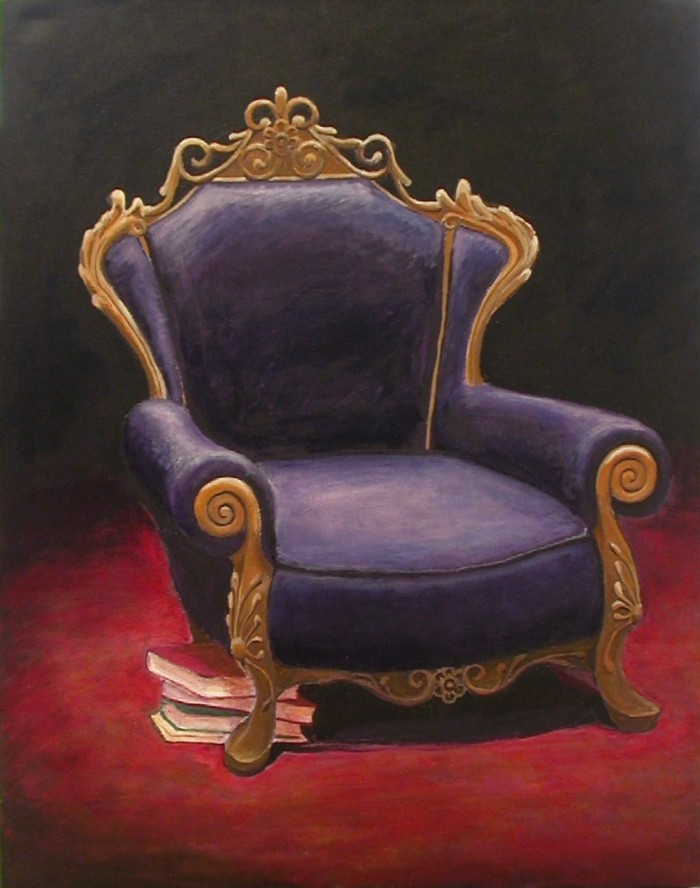 The Purple Chair by Liz Powley