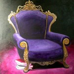 The purple chair