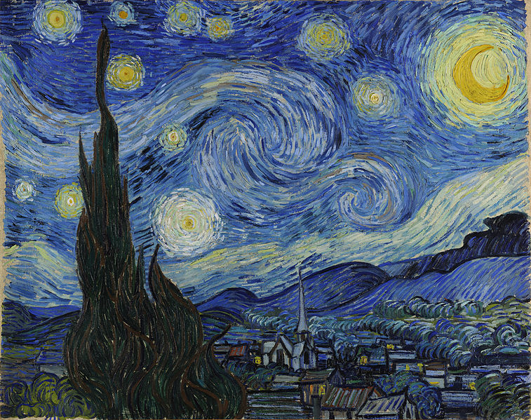 Starry Night – Vincent van Gogh