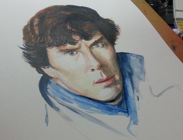 Sherlock at an angle