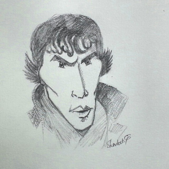 Sherlock caricature