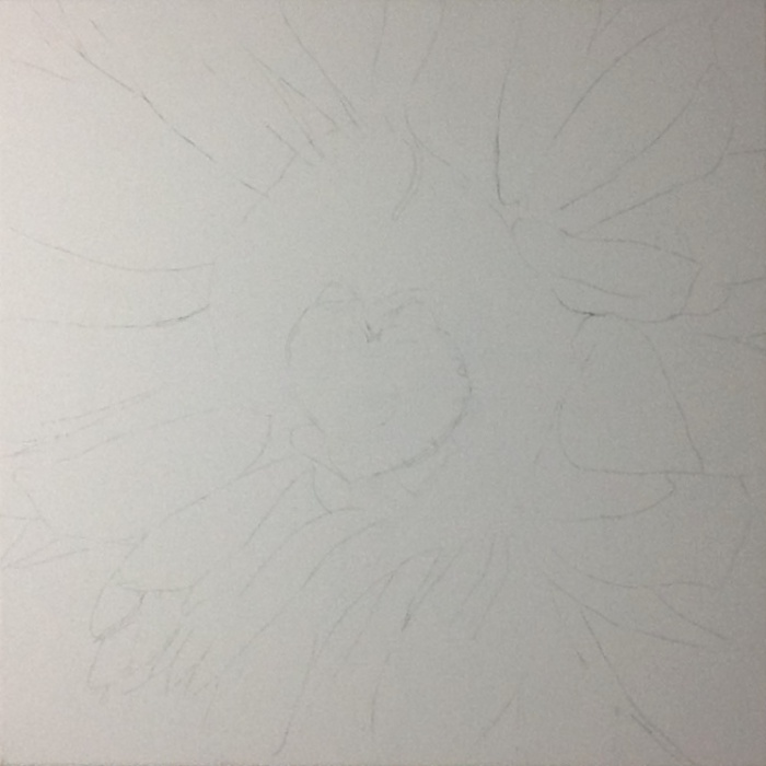 Sunflower I wip-1