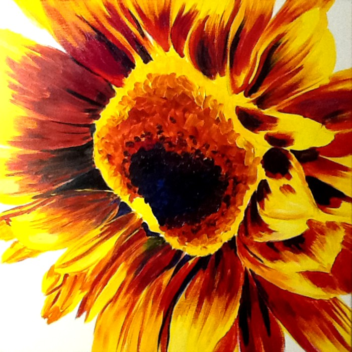 Sunflower I wip-2