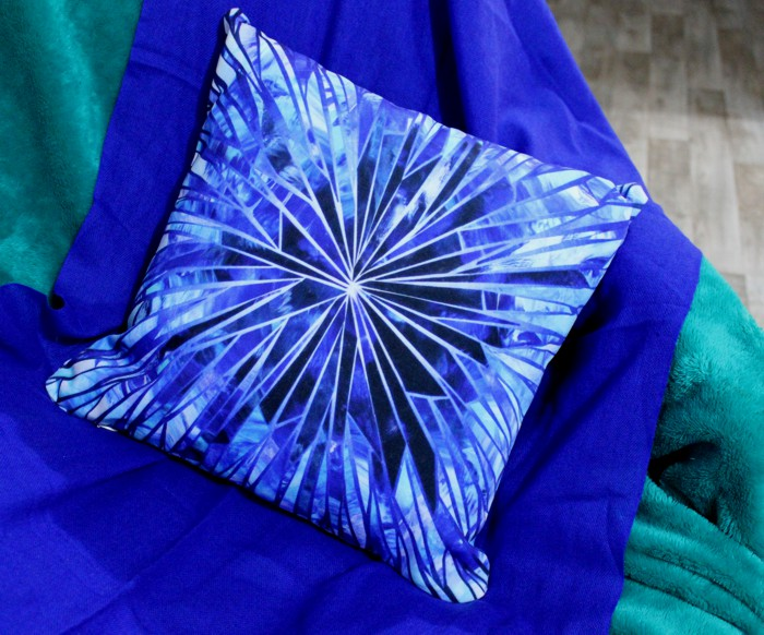 Ice Crystal cushion