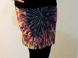 magenta magic skirt