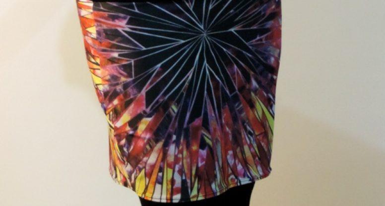 magenta magic skirt