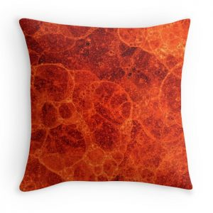 lava bubble cushion