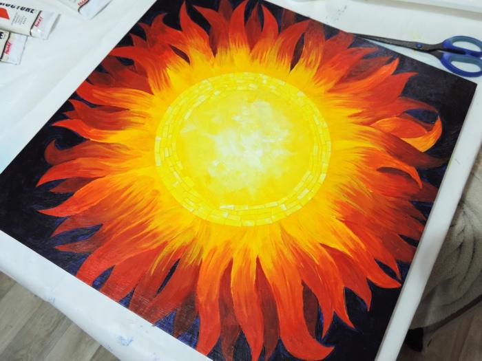 mosaic sun wip 4