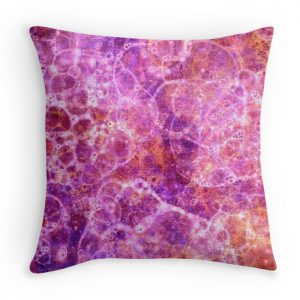 pink fizz cushion