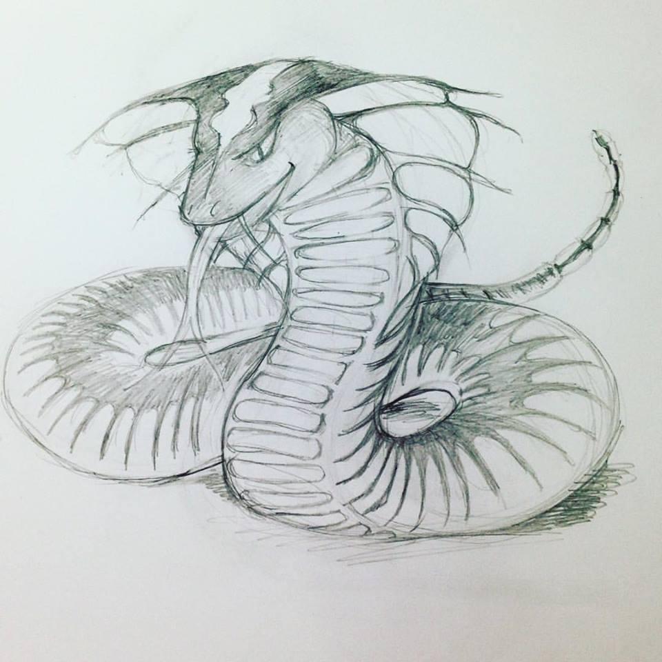 random snake monster